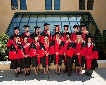 Graduation - Santana Row June 2009 - Group Photos