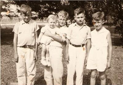 Josvanger cousins 1920's
