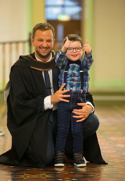 03/11/2017. FREE TO USE IMAGE. WIT (Waterford Institute of Technology) Conferring, Waterford City are Stephen Coady Butlerstown, Waterford with his brother Tony who graduated Bachelor of Science Honours in in Applied Computing. Picture: Patrick Browne