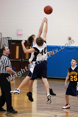 2011 01 05 SMS 7th Grade Basketball Blue vs Gold Game