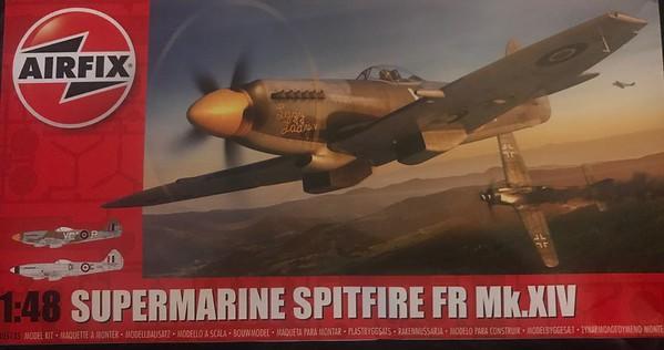 Airfix Spitfire FR Mk.XIV
