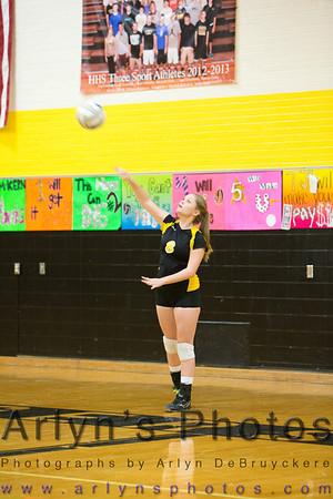 Hutch Volleyball vs Mound