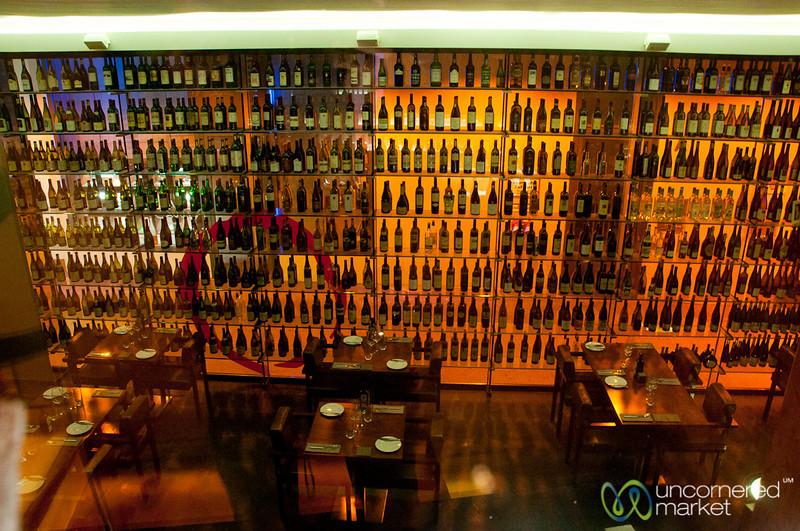 Rutz Restaurant Wall of Wines - MItte, Berlin