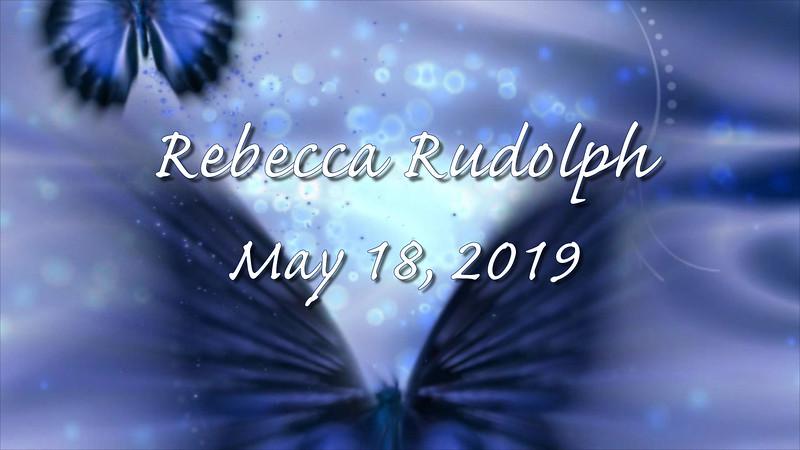 Rebecca's Bat Mitzvah Montage