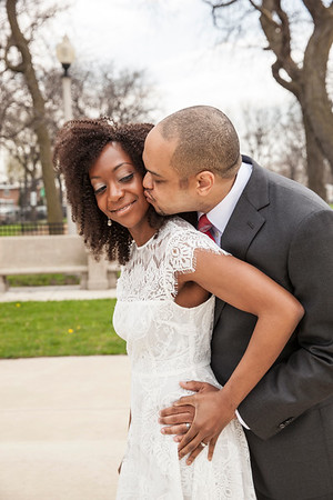Lawrence & Carla Watkins Wedding Day