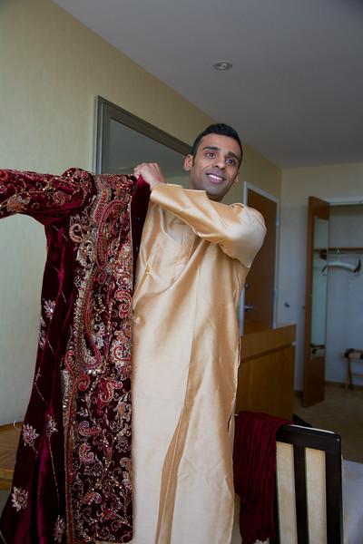 Le Cape Weddings - Indian Wedding - Day 4 - Megan and Karthik Groom Getting Ready 3.jpg