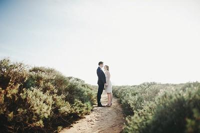 Megan & Hippolyte. Engaged.