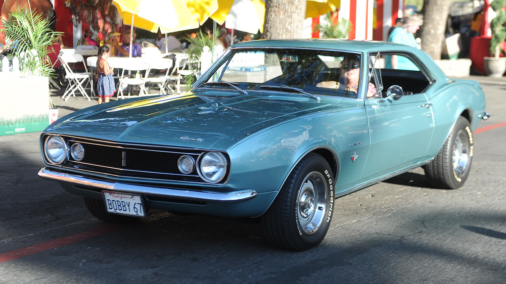 . A 1967 Camaro during the Diamond Bar community parade during the 91st Annual L.A. County Fair in Pomona, Calif. on Thursday, Sept. 5, 2013.   (Photo by Keith Birmingham/Pasadena Star-News)