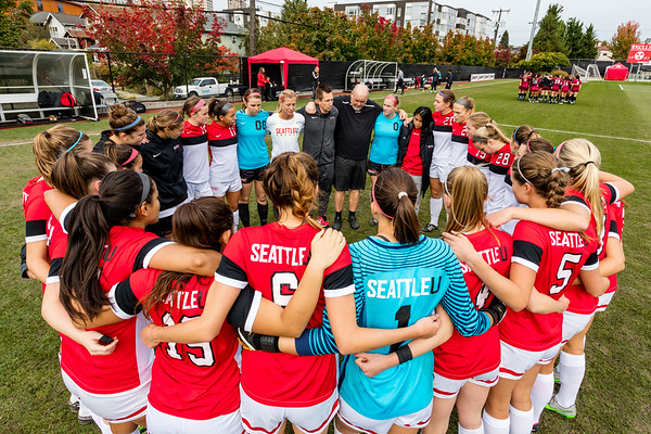 2017 Seattle U Women's Soccer vs NMSU
