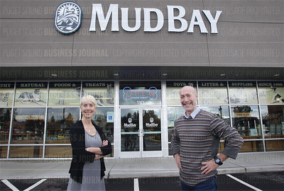 Mud Bay is a pet-friendly, family affair for sibling co-founders Lars Wulff and Marisa Wullf as seen in Olympia, Wash.
