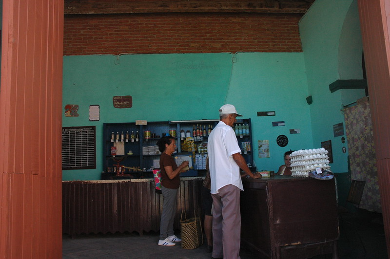 Ration store in Trinidad - Leslie Rowley