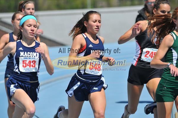 Women's 800 Meters - 2012 Gina Relays