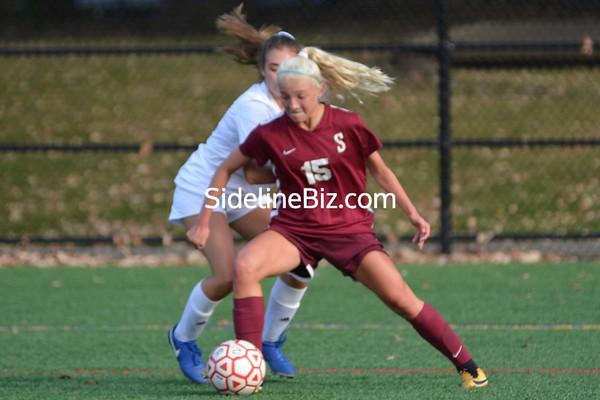 Girls Varsity Soccer vs Mt St D 2020