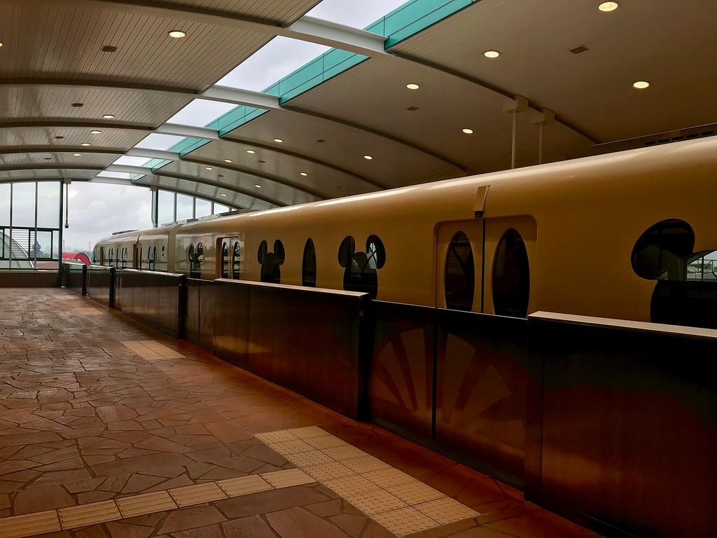 The Disneyland Resort Monorail.