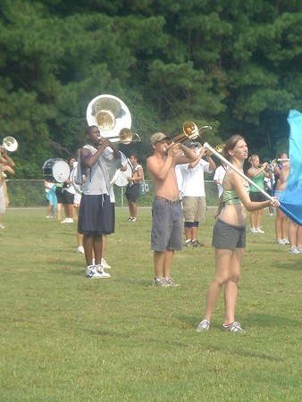 2005-08-05: Band Camp Day 5 (Afternoon Practice)