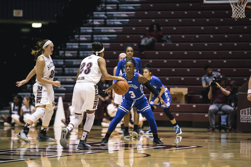 Indiana State women's basketball travels to the Southern Illinois Salukis on Thursday, March 1, 2018 at the SIU Arena in Carbondale, Illinois.