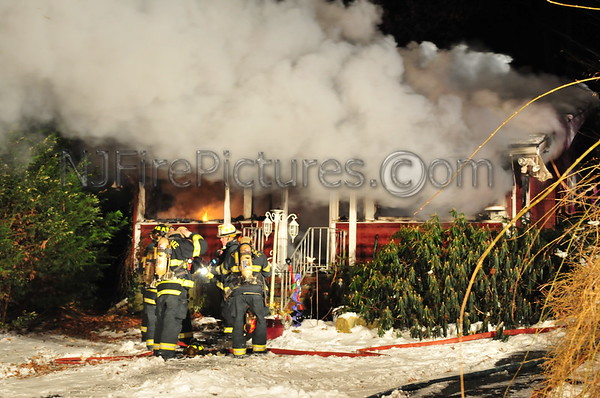 Budd Lake, NJ Dwelling Fire 8 Evergreen Pkwy 1/9/11