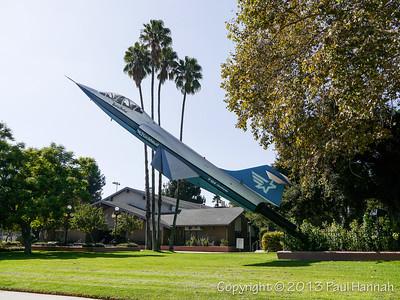 "Burbank, CA - F-104 ""Spirit of Burbank"""