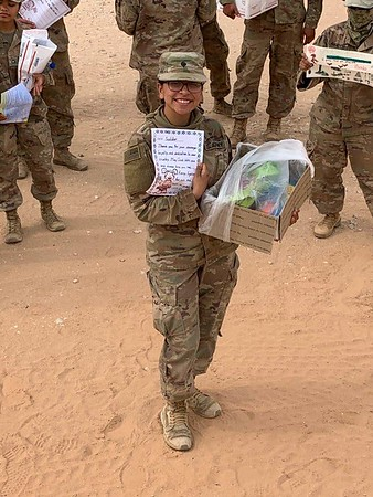 IWA sends care packages to troops