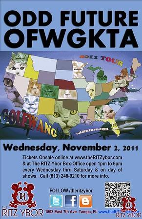 Odd Future OFWGKTA November 2, 2011