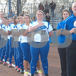 Lindale dedicates new softball field