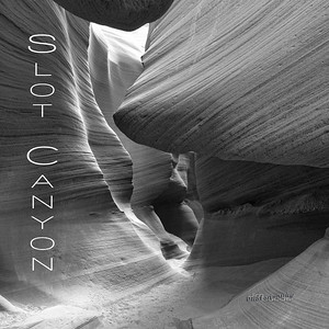 Slot Canyon Black and White Wall Grouping