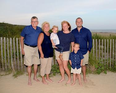 Mulhearn Family Beach Portraits Aug. 7, 2019