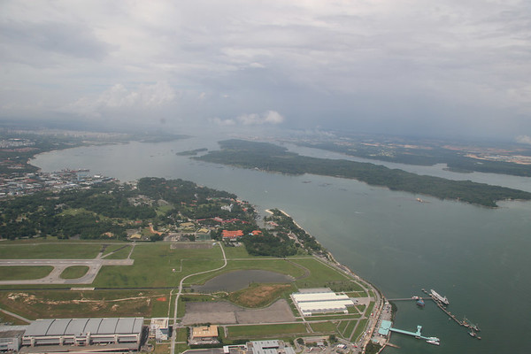 Flying from Singapore to Taipei