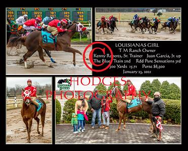 Louisiana Downs 2021 Quarter Horse