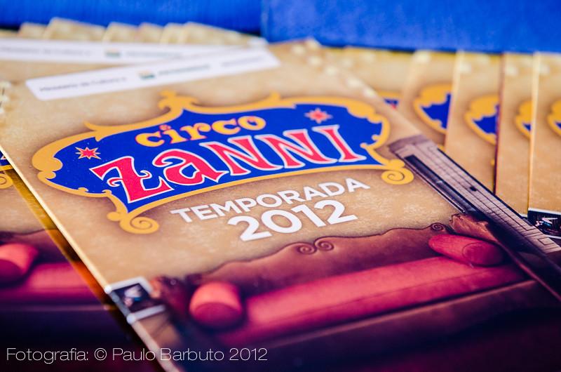 Circo Zanni - Novembro 2012
