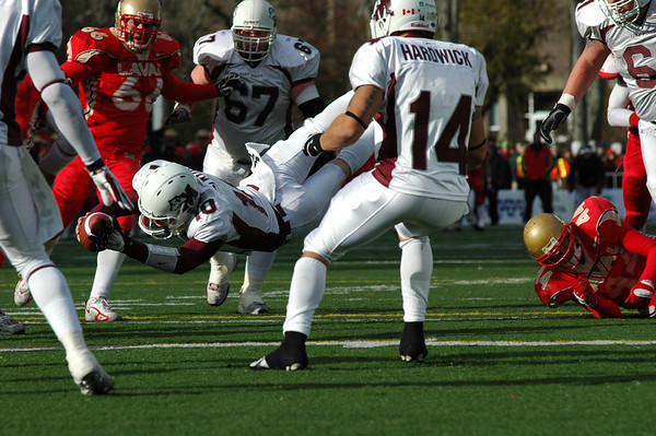 Smu Vs Laval Uteck Bowl 2007
