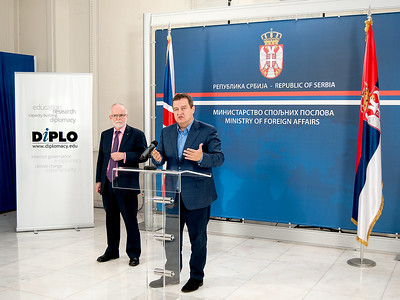 Digital Diplomacy workshop at Serbian MFA