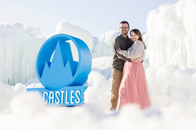 ICE CASTLES ENGAGEMENTS