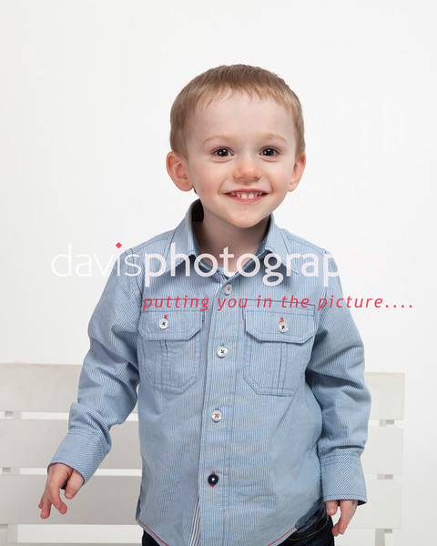 Toddler James Woodend