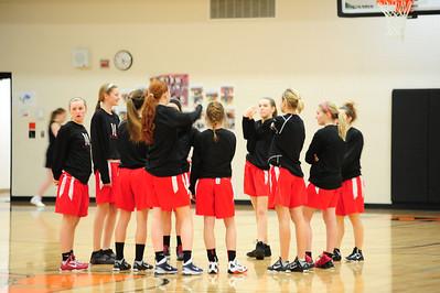 MSHS Girls Basketball Vs. Houghton2012-13