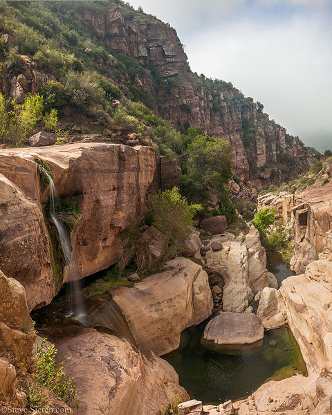 Tar_Creek_Waterfall_Sespe_Wilderness