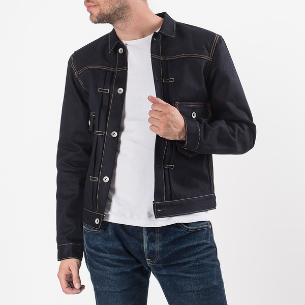Indigo-Indigo 18oz Raw Selvedge Denim Type ll Jacket-27124.jpg
