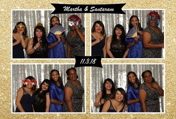 Martha & Santaram 11-3-18