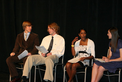 11/2/2008 National Honor Society Induction Ceremony