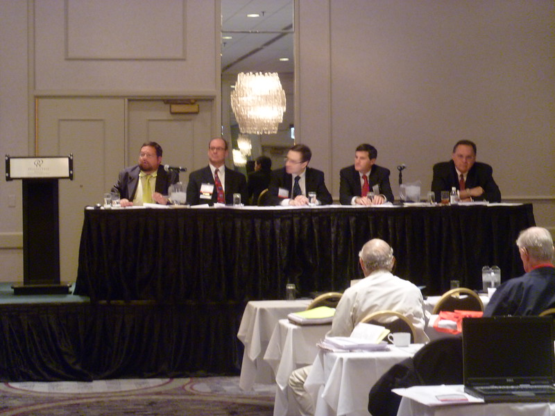 Estate Planning Panel at the Fall meeting.
