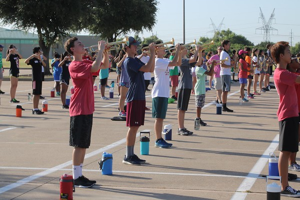 2016-8 Aug Marching camp