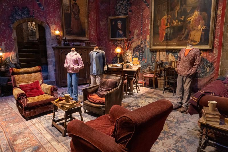 Harry Potter Gryffindor Common Room set