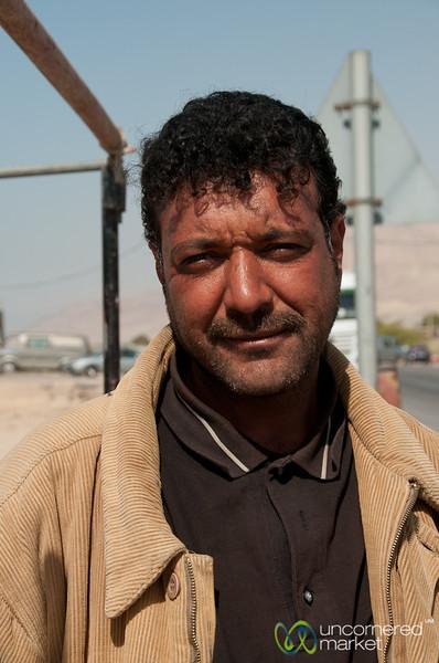 Vegetable Vendor in Ghor el Sahi - Jordan