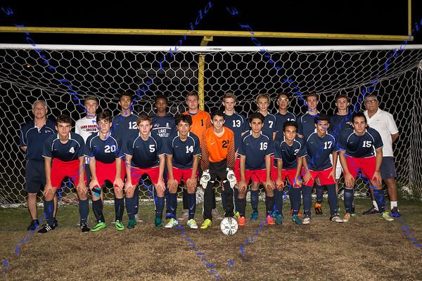 Boys Soccer Team Photo