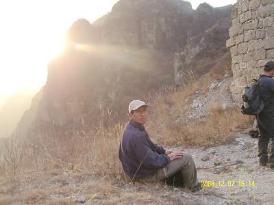hiking Beijing-mentougou