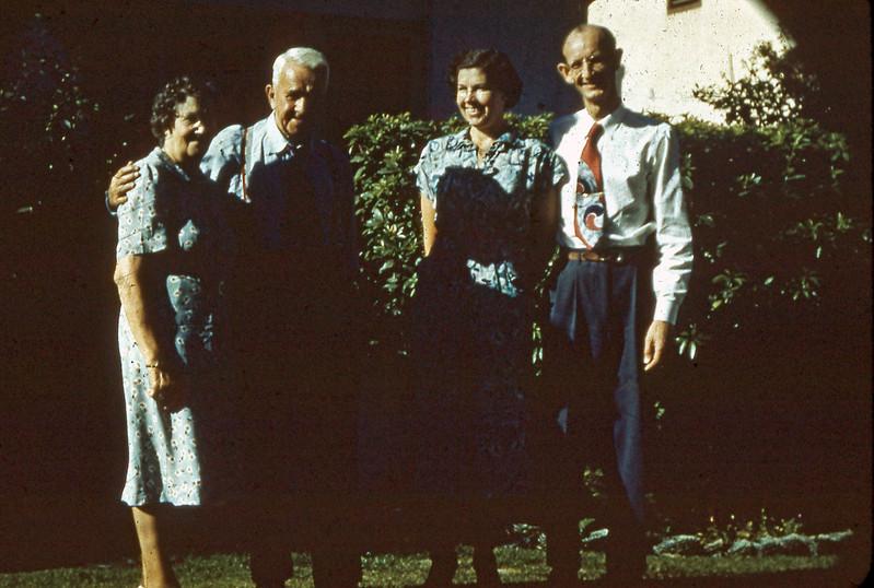 Caroline, William, Alice, and Bob