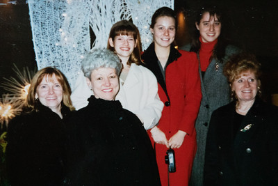 1995 Mother Daughter Trip to NYC