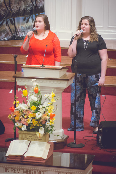 April 12, 2015 - Briana & Kayla Webb - Philadelphia Baptist Church - Smiths Station, AL - Photos by Julie Wynn - www.wynningphotography.com