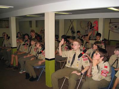 Troop Meeting - Sep 22