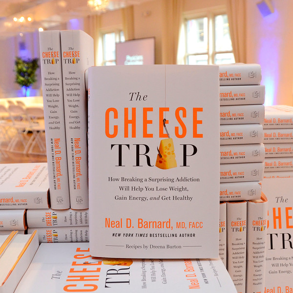 Physicians Committee for Responsible Medicine Presents the Cheese Trap Book and Fundraising Event Featuring Neal D. Barnard
